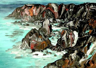 Cornwall2-Bedruthan Steps2