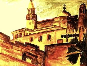 Egypt17-Moschee Abu al Haqqaq Luxor
