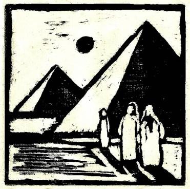 Egypt2-Gizeh-Pyramiden-Holzschnitt