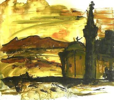 Egypt26-Kleine Moschee in der Wueste