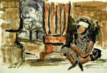 Egypt47-Kom Ombo-Rast im Tempel