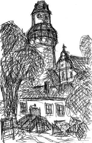 FlaemSk4 Wiesenburg Schlossturm