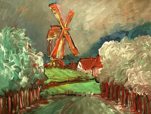 Flandern2-Windmuehlendamm Bruegge