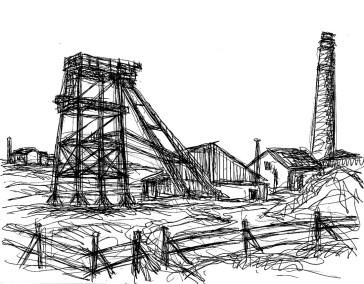 GB7 Cornwall Bothallack Tin Minery1