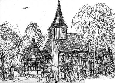 HavelSk13 Markee Dorfkirche