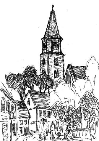 HavelSk3 Brandenburg-Hv Blick zum Dom