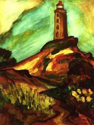 Hiddensee4_Leuchtturm am Dornbusch