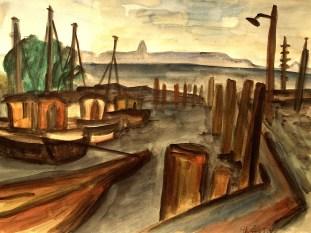 Hiddensee7_Im Hafen von Neuendorf