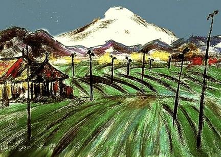 Japan3a-Blick zum Fujiyama
