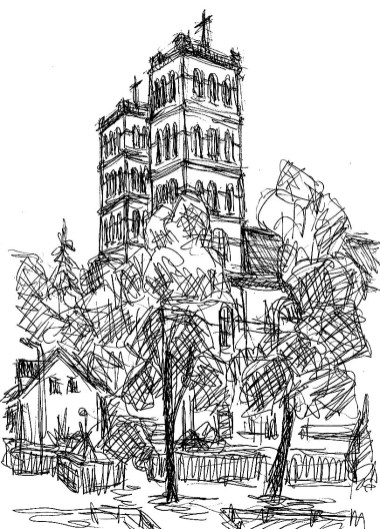 LausitzSk10 Straupitz Schinkelkirche