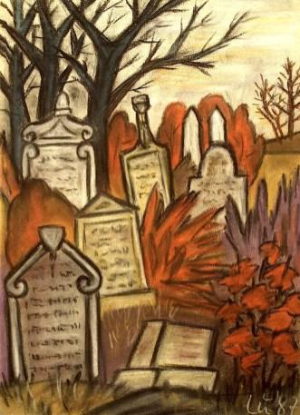 Maehren8_Mikulov-Jued-Friedhof1