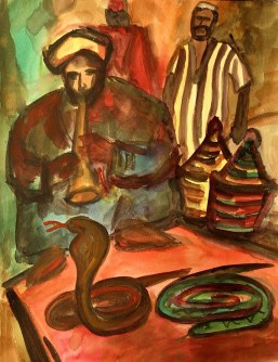 Marokko13_Djemaa-al-Fnaa-Aqu