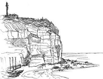 Normandie17-Steilkueste bei Yport1