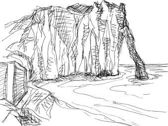 Normandie23-Steilkueste bei Etretat1