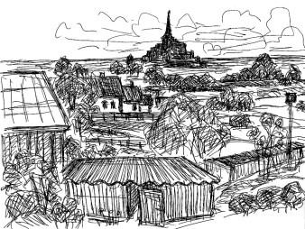 Normandie27-Blick zum Mont Saint Michel