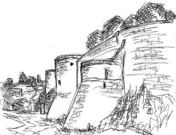 Normandie9-Burg Falaise2