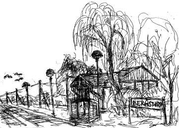 OHVSk4 Bergsdorf Bahnhof