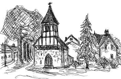OHVSk4 Neuloegow Dorfkirche