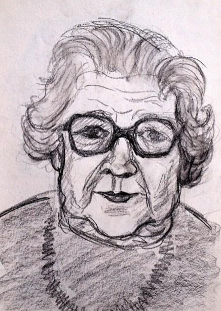 Portrait Frau Tietze