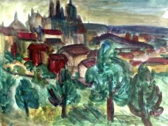Prag1-Blick zum Hradcin
