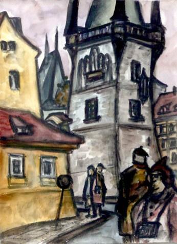 Prag6-Kleinseitner Brueckenturm