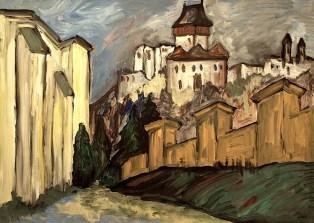 Slowak1-Burg Trencin