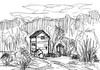 TeltowSk8 Pitschen-Pickel-Haus am Wald