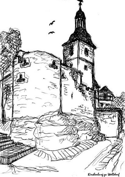 ThrSk15-Kirchenburg Walldorf