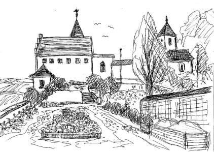 ThrSk45 Kranichfeld Unterburg