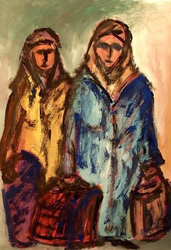 Tuerkei1-Zwei Frauen beim Einkauf