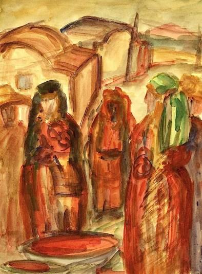 Tunesien6-Berbermarkt in Jedidi-Aqu