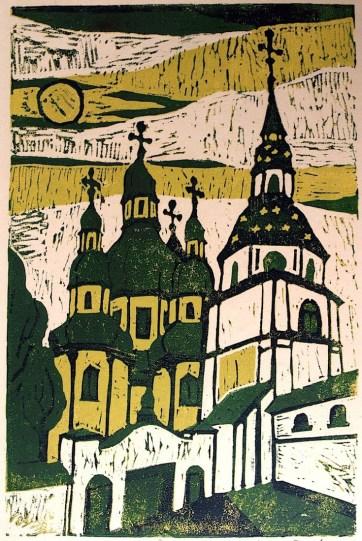 Ukraine2-Kiew-Wydubizky-Kloster-FLS