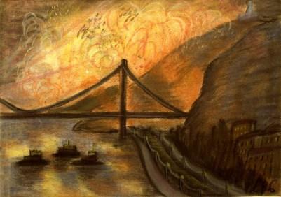 Ungarn26-Feuerwerk ueber der Donau