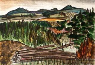 Viernau29-Waldlandschaft 1