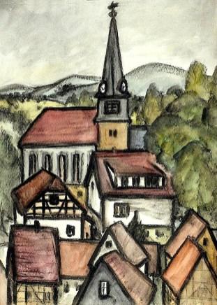 Viernau8-Kirchbergblick