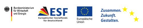 ESF-Logos-Reihe