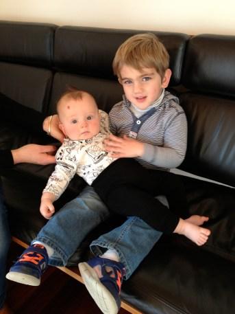 Spencer and Tom