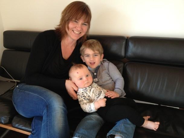 Sarah, Spencer and Thomas