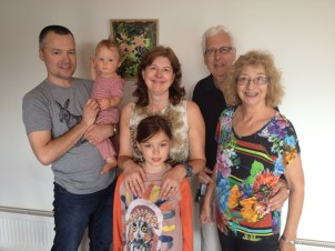 Ron, Bridget, Maddie, Brian & Prim