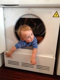 inside the dryer