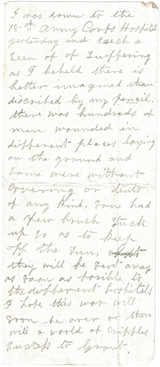 Undated fragment of letter