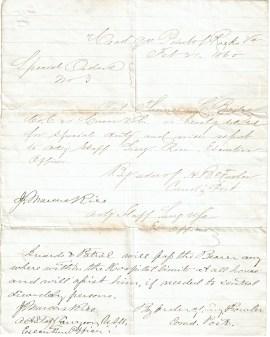 Bailey's Orders, 2/65