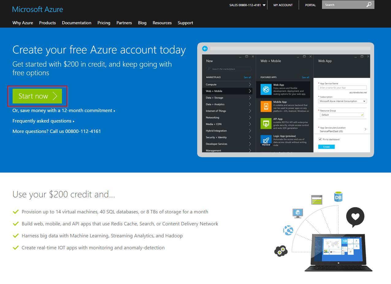 Step-by-Step: Microsoft Azure Free Trial - Create a Farm