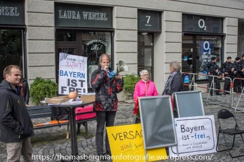 """""""Bayern-ist-frei"""" erzählz von der Buntstasi"""""""
