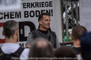 Heinz Meyer bei seiner Rede
