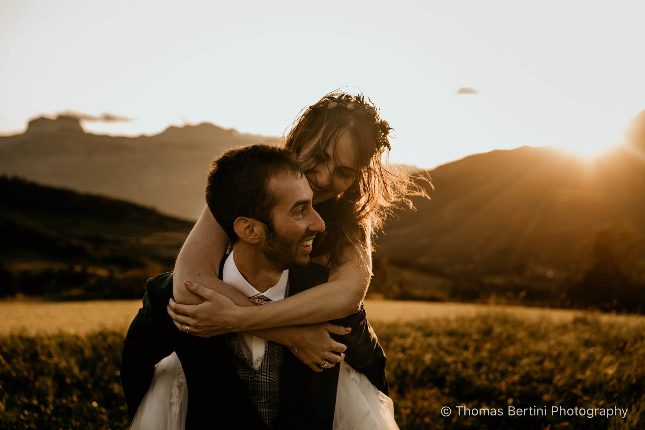 Thomas Bertini Photography - Séance photo couple mariage nature - Wedding photo shooting wild - Jausiers Alpes route de la bonette-55