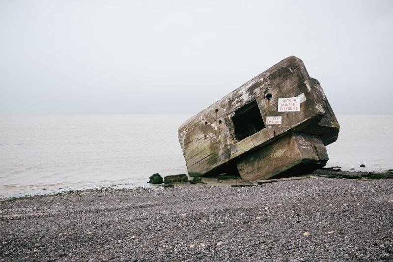 Baie de Somme : pointe du Hourdel