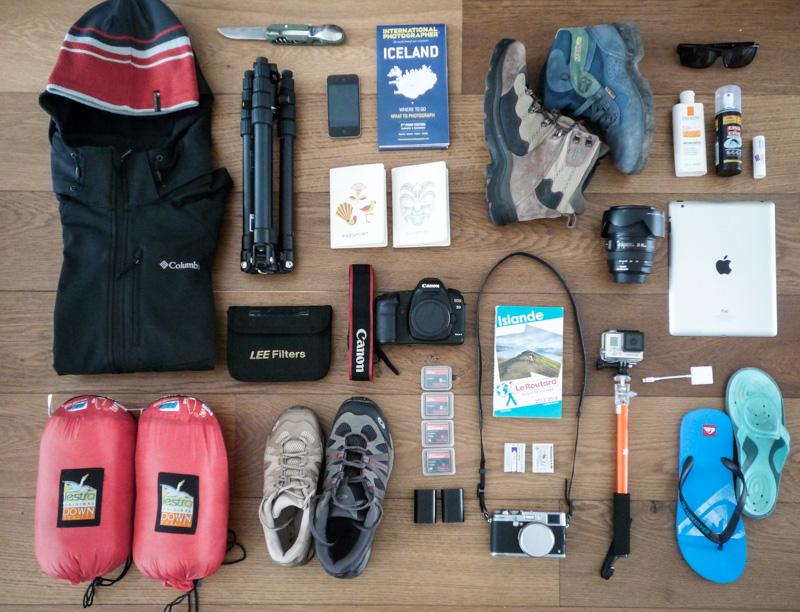 Projet 52 - Mon kit vital pour l'Islande