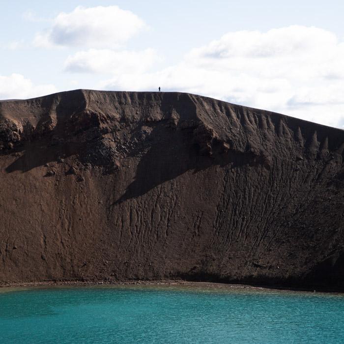 Roadtrip en islande - cratère Viti