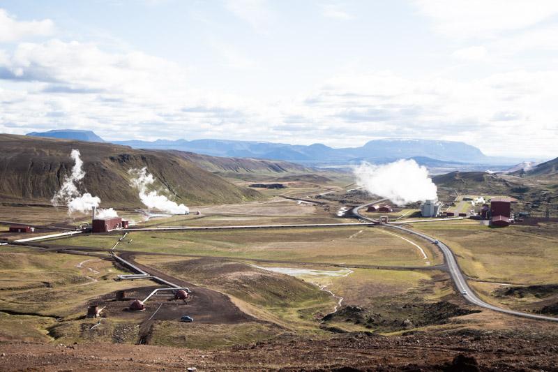 Roadtrip en islande - usine géothermique de Krafla